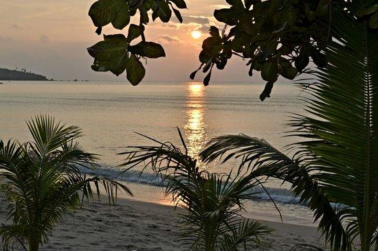 Lamai Resort: восход,вид с крыльца