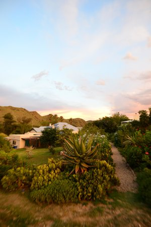 The Retreat at Groenfontein: sunset over the main house