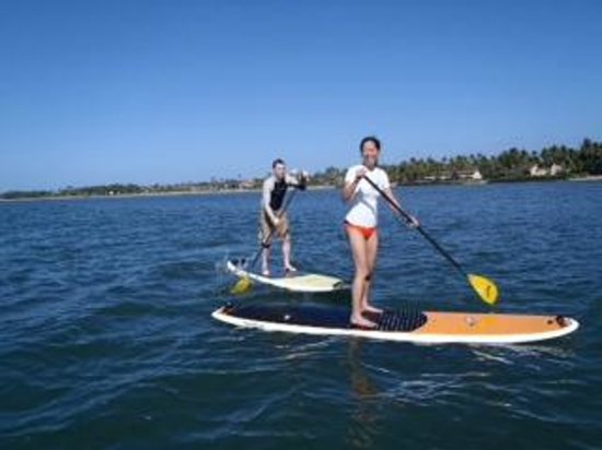 Maria Souza's Stand Up Paddle School: SUP with maria
