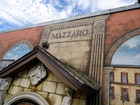 Mazzaro's Italian Market: You can't miss the building.