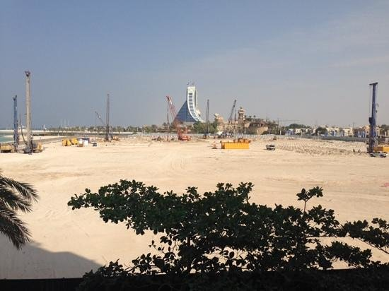 Jumeirah Mina A'Salam: building work november 2013