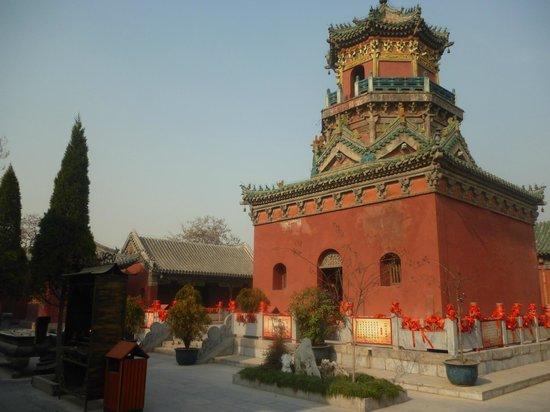 Καϊφένγκ, Κίνα: เจดีย์ Yangqinguan