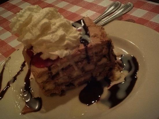 Sal & Mookie's New York Pizza and Ice Cream Joint: Something different and worth trying, Chocolate Tiramisu.