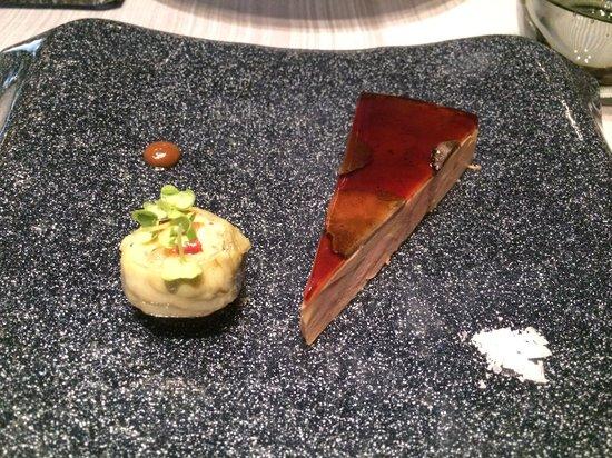 Chapeau Rouge Restaurant William Frachot: I love truffle with foie gras