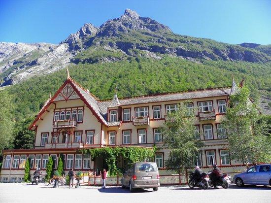 Hotel Union Oye: esterno