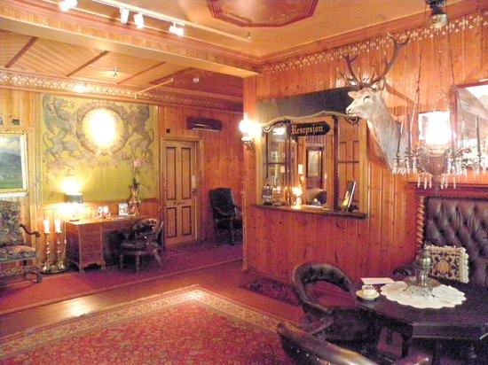 Hotel Union Oye: reception