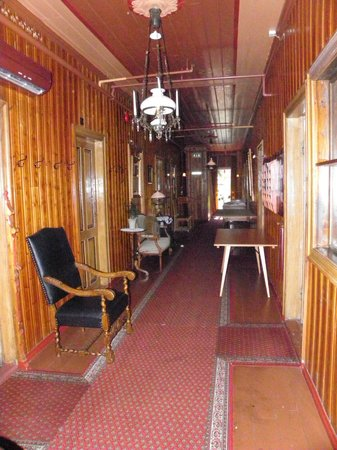 Hotel Union Oye: corridoio