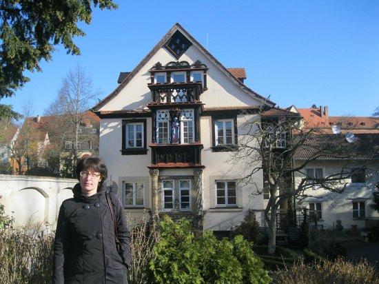 Bamberg Altstadt : Обычные домики в Бамберге