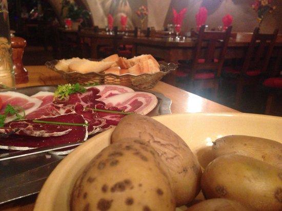 La Vieille Auberge Hotel: Raclette...