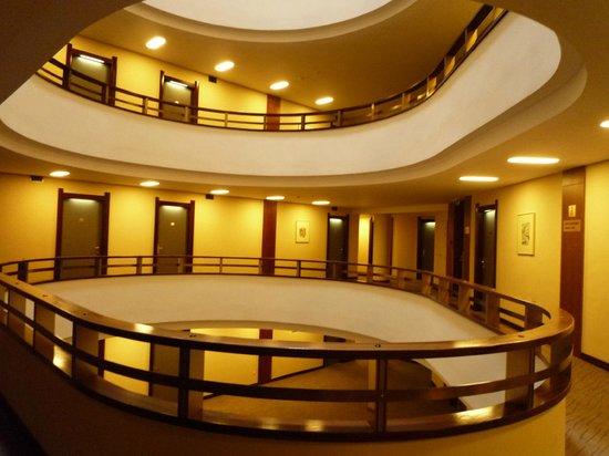 Grand Hotel Union Business: pasillos