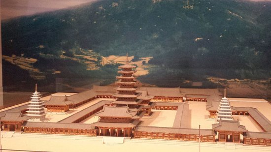 Miruksa Temple Site: How the temple used to be