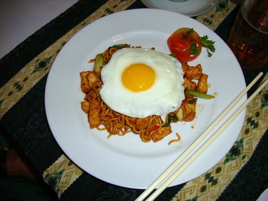 Kungkungan Bay Resort: Mee Goreng - Indonesian fried noodles