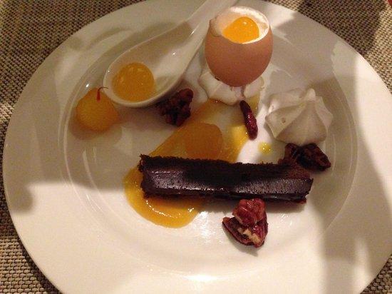 Arajilla Restaurant : Sweet egg dessert