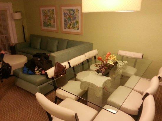 Star Island Resort and Club: ダイニングテーブルは8人分