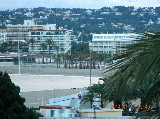 Hotel Villa Naranjos : Vista de la playa