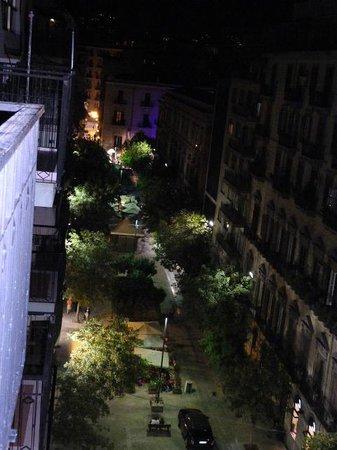 B&B La Bella Vita : View from the terrace at night
