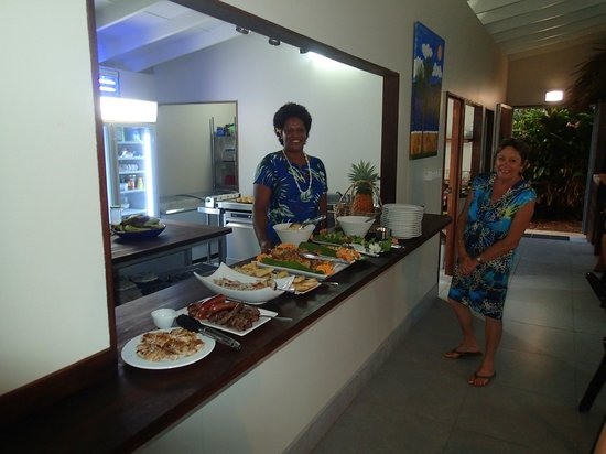 Aroha Taveuni: Delicious meal at new years eve