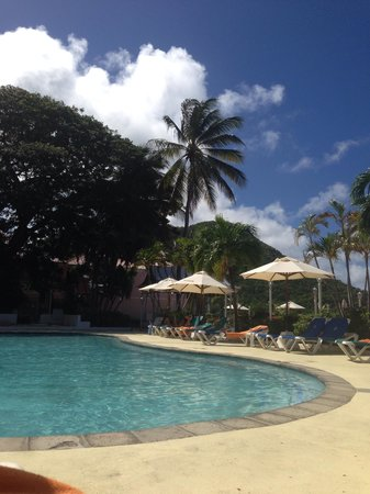 St. Lucian by Rex Resorts : The pool