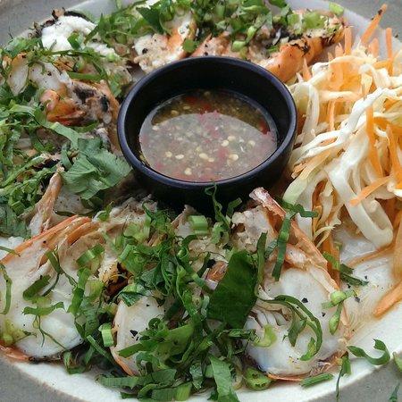 Bann Kun Pra : Khun pra grill shrimps
