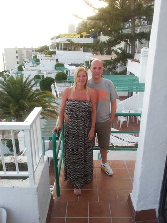 Hotel Altamar: Lou and pross on the balcony