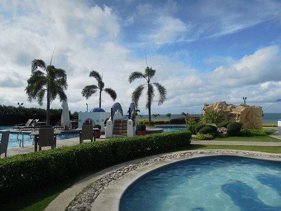 Thunderbird Resorts & Casinos - Poro Point: view of both pools