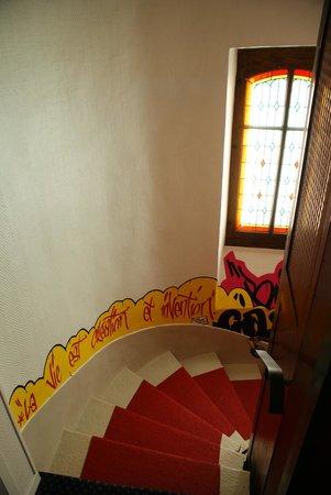 Hotel du Nord : stairway