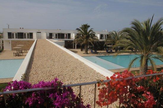 Hotel Dunas de Sal: Utsikt över poolerna