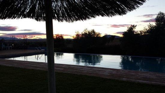 Villa Nazules Hotel Hípica Spa: Vistas Atardecer