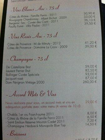 Room service menu - Picture of Novotel Monte Carlo, Monte-Carlo ...