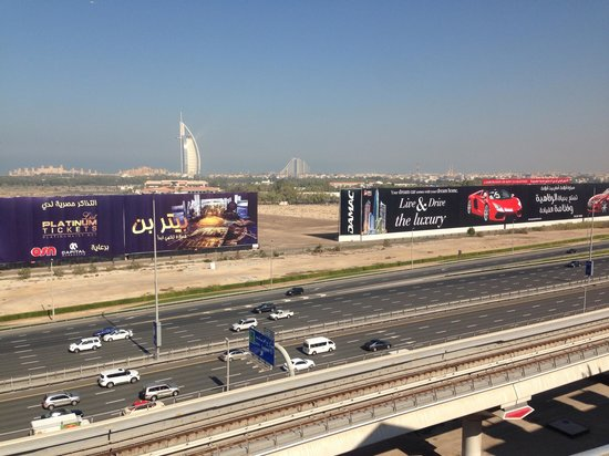 Holiday Inn Dubai - Al Barsha: View from Hotel Roof