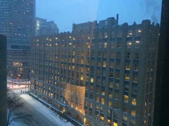 The Boston Common Hotel and Conference Center: View from my room