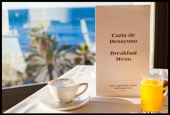 Vincci Seleccion Aleysa Hotel Boutique & Spa: Desayuno