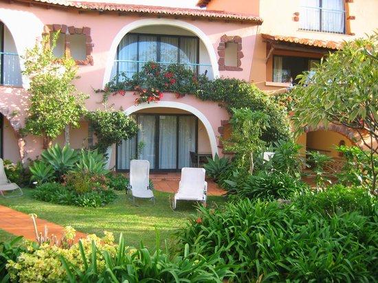 Quinta Splendida: jardin de notre chambre