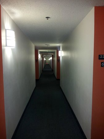 Motel 6 Moab: corridor
