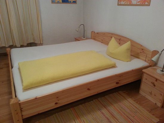 Pension Stoi: the bed