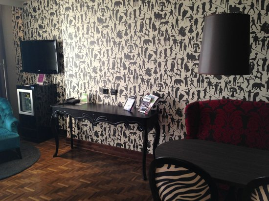 Scandic Paasi: Unusual but nice wallpaper