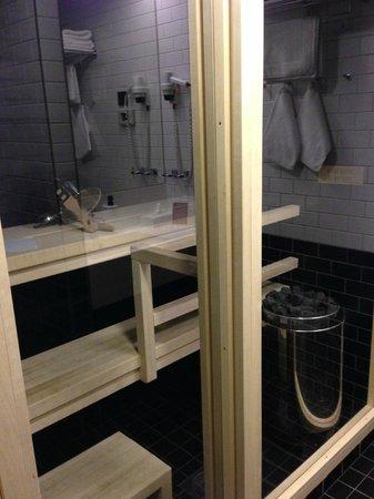 Scandic Paasi: Sauna
