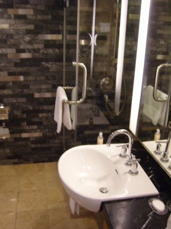 Royal Orchid Sheraton Hotel & Towers: Our bathroom
