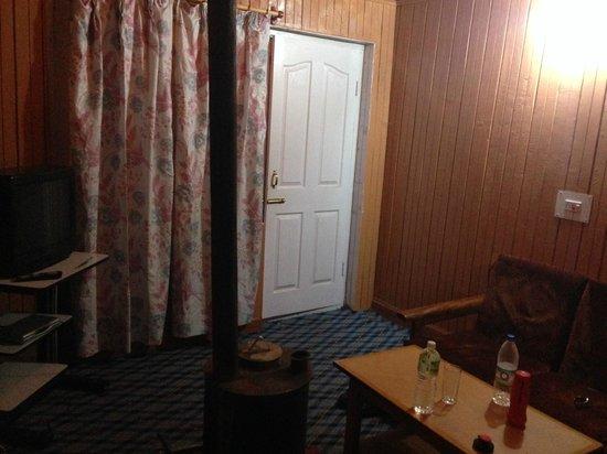 Tourist Establishment: sitting room of suite