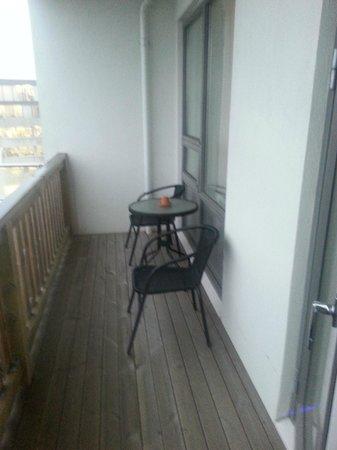 Hotel Klettur: Decked Balcony