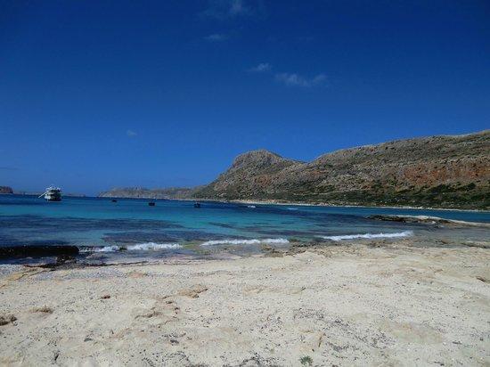 """""""Balos Lagoon"""" gegenüber der Insel """"Imeri Gramvousa"""""""
