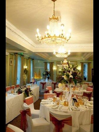 Mercure Farnham Bush Hotel: set up for our wedding