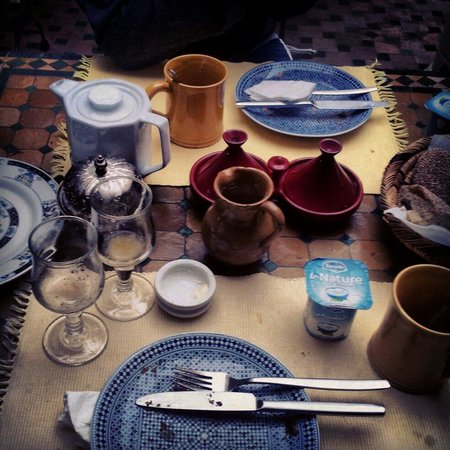 Riad Dar Sheba: Desayuno