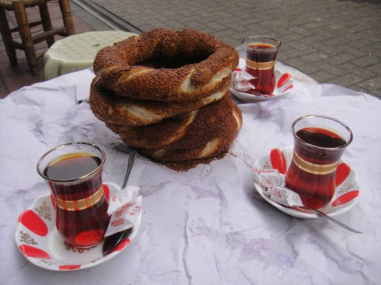 Circle Istanbul : Morning snack