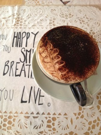 Sister Srey Cafe : Cappuchino