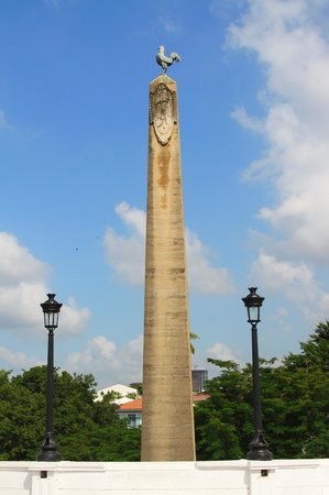Plaza de Francia: Cock