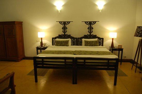 Palais de Mahe : Rooms have a strong heritage design