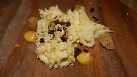 The Tasting Room: zwischendurch ein Käsegang