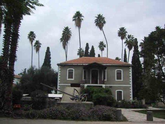Kibbutz Degania Alef: The First House, now the Secretariat, Degania Alef