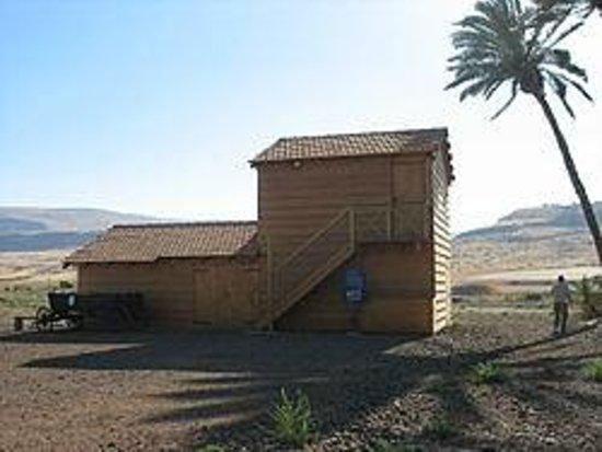 Kibbutz Degania Alef : Um Juni house reconstructed for Centenary in 2010